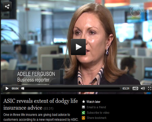 ASIC reveals extent of dodgy life insurance advice