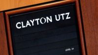 Law firm Clayton Utz became embroiled in the AMP scandal last week. Photo: AAP