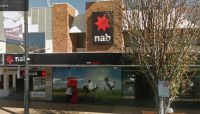NAB branch, Ruthven St, Toowoomba: scene of the crime