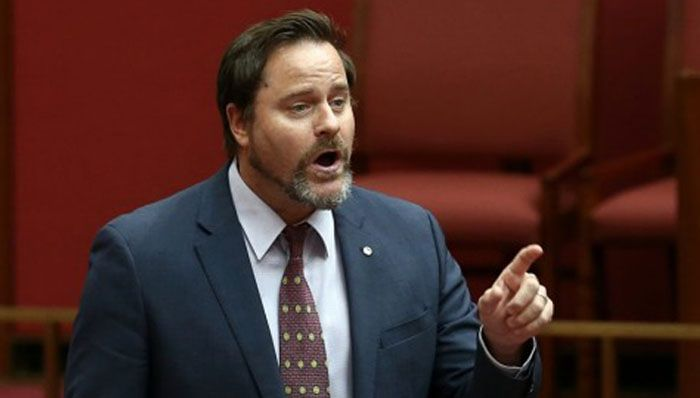 Greens Senator Peter Whish-Wilson gave notice on Monday that he would call on the Abbott government to launch a royal commission. Photo: Alex Ellinghausen