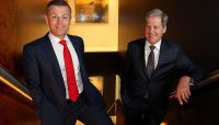 Glenn Vassallo and Michael Becker say the firm's pipeline of class action ­opportunities contains two cases against banks. Picture: David Geraghty Source: News Corp Australia