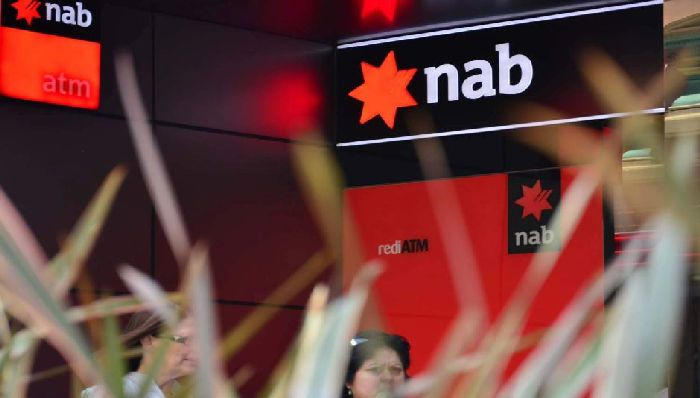 PHOTO: National Australia Bank's introducer program led to $24 billion worth of home loans. (ABC News: Nic MacBean)